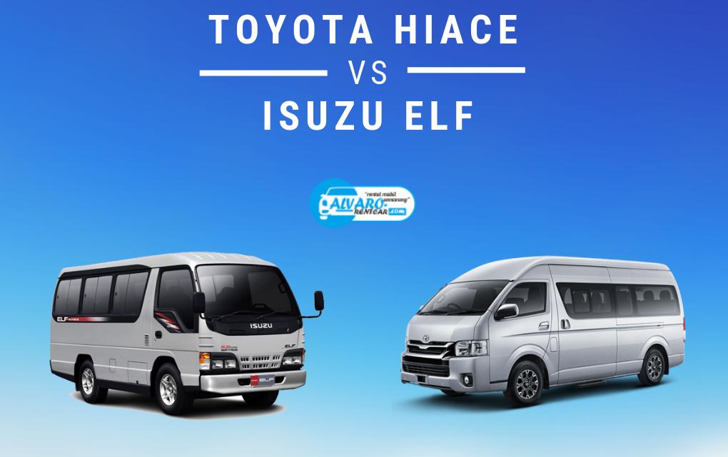 Toyota Hiace dan Isuzu Elf mana yang lebih bagus untuk wisata ?