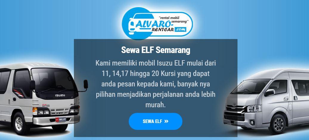Tempat Rental Elf Bebas Corona di Semarang