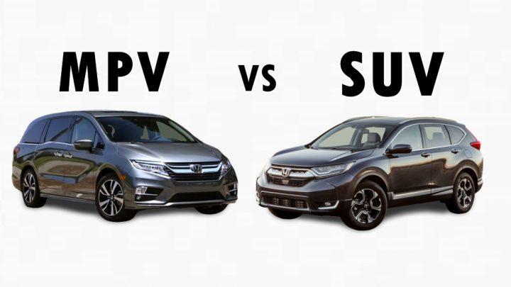 Mengulik 5 Perbedaan SUV Dan MPV, Dua Jenis Kendaraan Di Sewa Mobil Jakarta